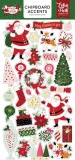 Merry&Bright - Echo Park - chipboards Accents  / 28 ks