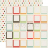 Sweet Day - Pretty Polaroid - scrapbook papier 12x12 inch