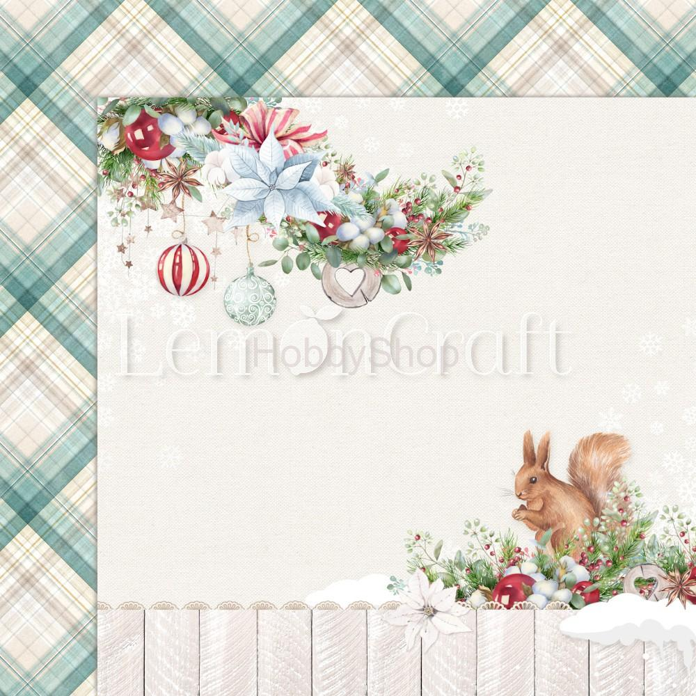 This Christmas 02 scrapbook papier 12x12inch