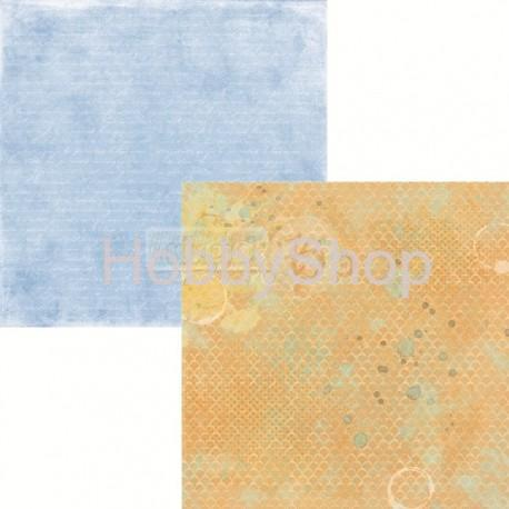 Scrapbook papier Splash it 04 / 12x12 inch