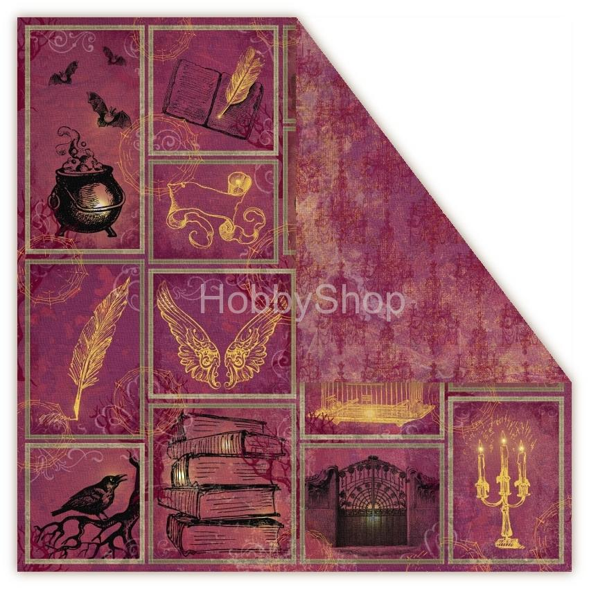 Magic twilight - vision - scrapbook papier 12x12 inch