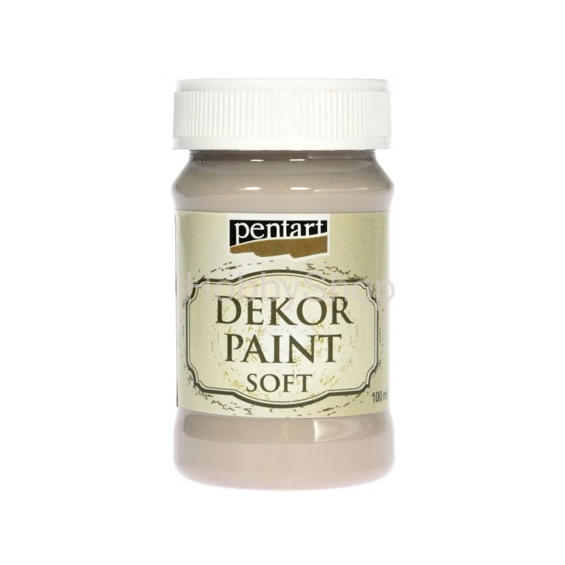 Dekor paint soft/mandľová_100ml