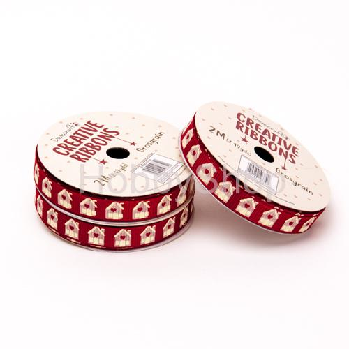 Stuha Christmas Ribbons Traditional 12_2m