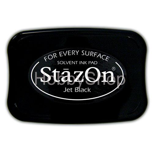 StazOn Solvent Ink pad_ Jet Black