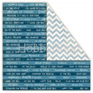 NAVAL TREATY Sea Stories - scrapbook papier 12x12 inch
