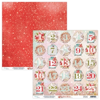 Christmas Stories 05 / scrapbook papier 12x12 inch