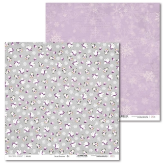 Arctic Sweeties -04 scrapbook papier 12x12 inch