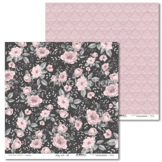 Shabby Winter -05 scrapbook papier 12x12 inch