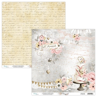 MARRY ME 02 / scrapbook papier 12x12 inch