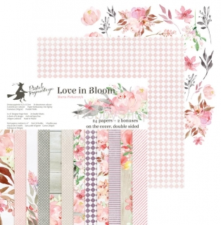 LOVE IN BLOOM sada scrapbook papierov 6x6inch