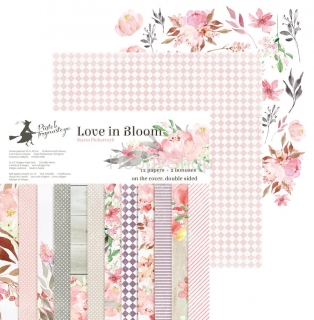 LOVE IN BLOOM sada scrapbook papierov 12x12inch