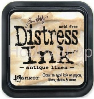 Poduška Distress Ink - Antique Linen