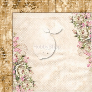 House of Roses EXTRA 03 - scrapbook papier_12x12 inch