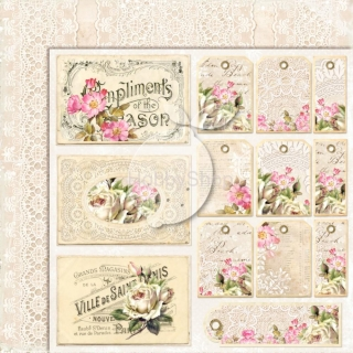 House of Roses EXTRA 04 - scrapbook papier_12x12 inch