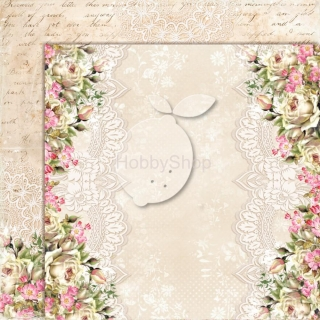 House of Roses EXTRA 05 - scrapbook papier_12x12 inch