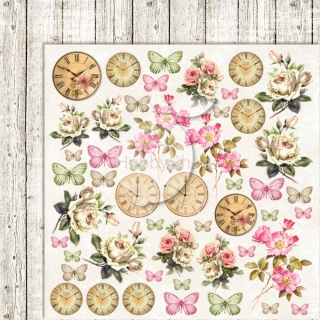 House of Roses EXTRA 06 - scrapbook papier_12x12 inch