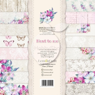 Next to me sada scrapbook papierov 8ks 12x12inch