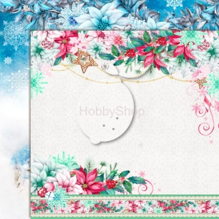Joy to the World 01 - scrapbook papier_12x12 inch