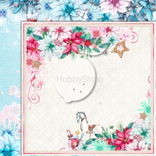 Joy to the World 06 - scrapbook papier_12x12 inch