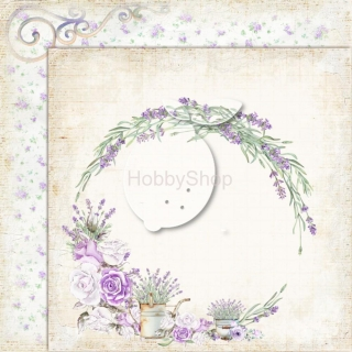 My sweet Provence 01 - scrapbook papier_12x12 inch