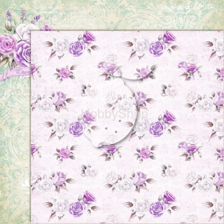 My sweet Provence 04 - scrapbook papier_12x12 inch