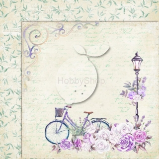 My sweet Provence 06 - scrapbook papier_12x12 inch