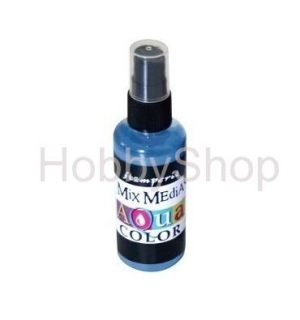 AQUACOLOR spray - modrý 60ml