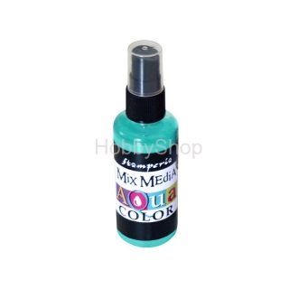 AQUACOLOR spray - tyrkysový 60ml