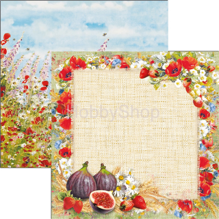 UNDER THE TUSCAN SUN - Sweet Countryside - scrapbook papier 12x12inch