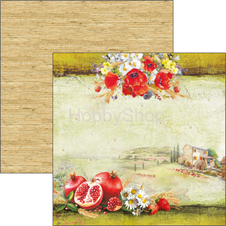 UNDER THE TUSCAN SUN - Tuscan Dream - scrapbook papier 12x12inch