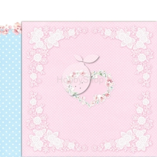 GIRL'S LITTLE WORLD 02 scrapbook papier 12x12inch