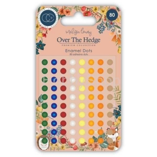 Craft Consortium Over The Hedge Enamel dots _80ks