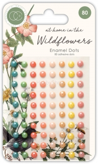 Craft Consortium At Home in the Wildflowers Enamel dots _80ks