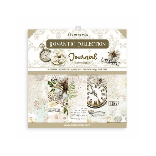 JOURNAL - sada scrapbook papierov 8x8 inch