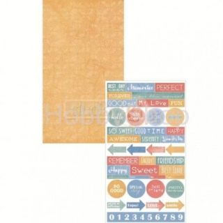 Scrapbook papier Splast it 05 /17x30,5cm
