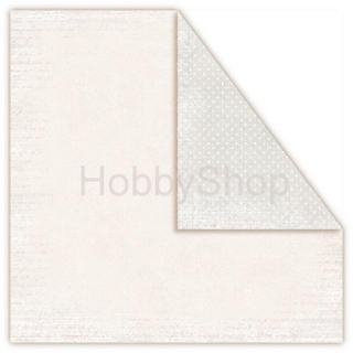 Misty Morning - White frost - scrapbook papier 12x12 inch