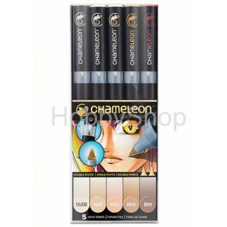 CHAMELEON - Color Tones - 5 PEN Skin Tones Set