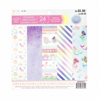 Stay Magical - sada scrapbook papierov 6x6inch / 24ks