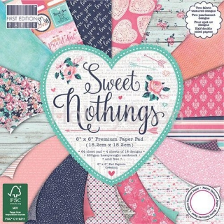 Sweet Nothings - sada scrapbook papierov_15,2x15,2cm
