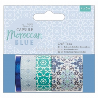 Moroccan Blue_Papermania Capsule_Craft Tape /4x5m/