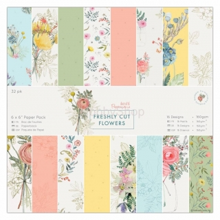 Freshly Cut Flowers_Papermania_6x6 inch - sada_32ks