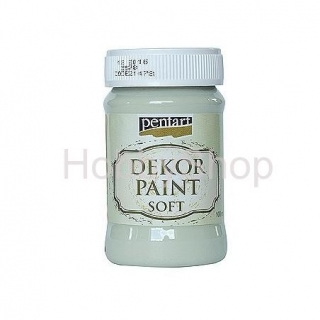 Dekor paint soft/ lišajník zelený_100ml