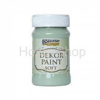 Dekor paint soft/ country zelená_100ml