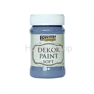 Dekor paint soft/ indigo modrá_100ml