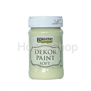 Dekor paint soft/žltá_100ml
