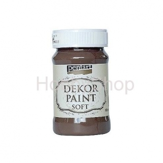 Dekor paint soft/hnedá_100ml