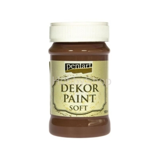 Dekor paint soft/vintage hnedá_100ml