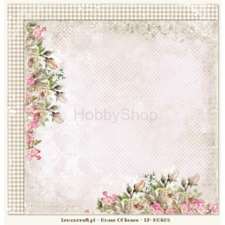 House of Roses 05 - scrapbook papier_12x12 inch