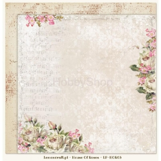 House of Roses 03 - scrapbook papier_12x12 inch