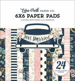Echo Park Just Married Echo Park - sada scrapbook papierov  6x6 inch